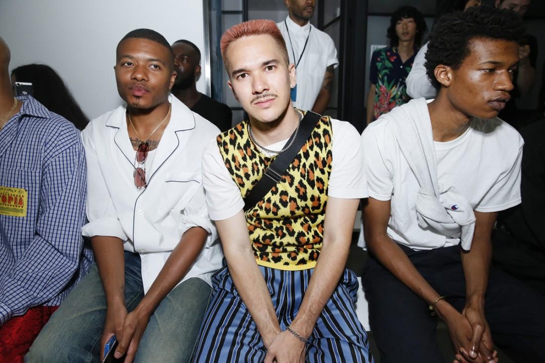 Front Row@ Landlord Mens NYFW SS2019 photo by Cheryl Gorski 17