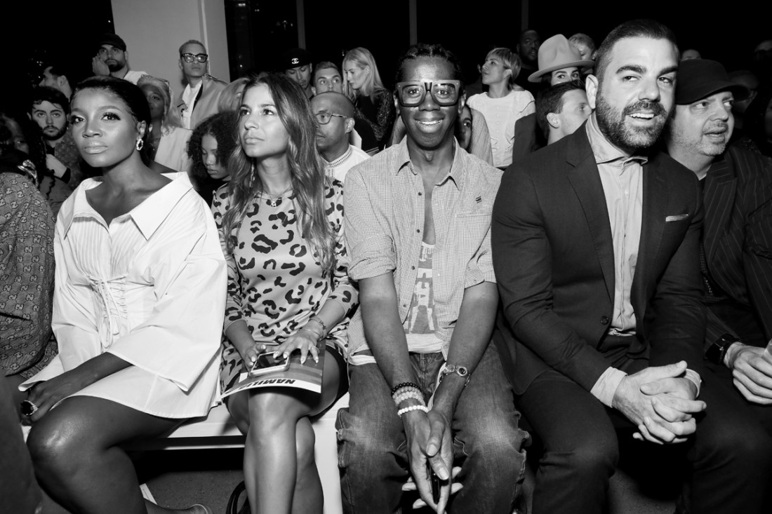 Front Row@ Namilia NYFW SS2019 photo by Cheryl Gorski 10