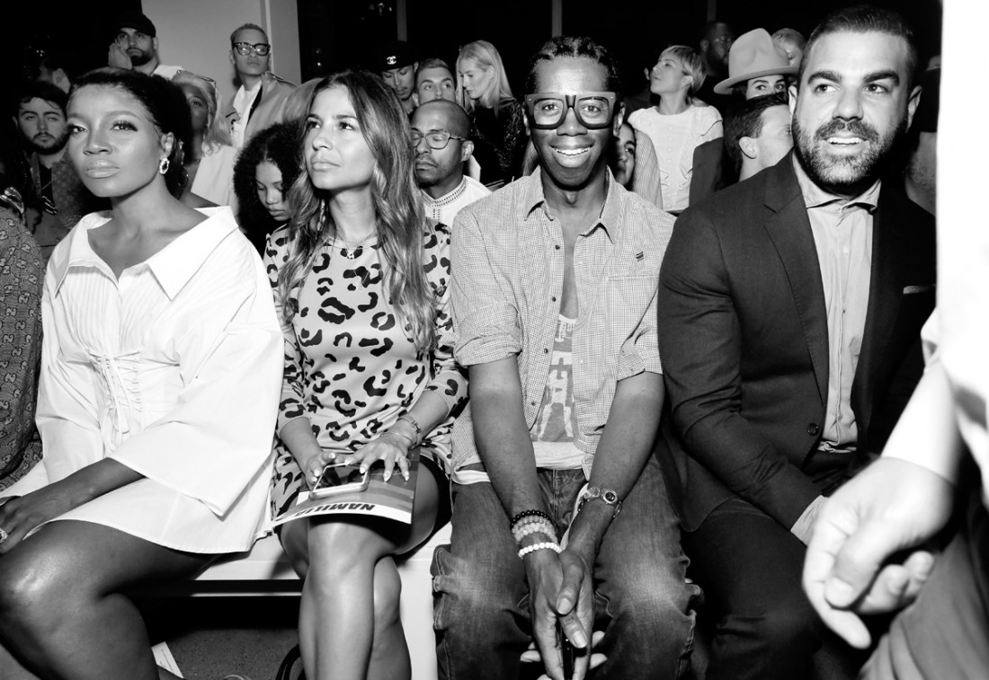 Front Row@ Namilia NYFW SS2019 photo by Cheryl Gorski 11