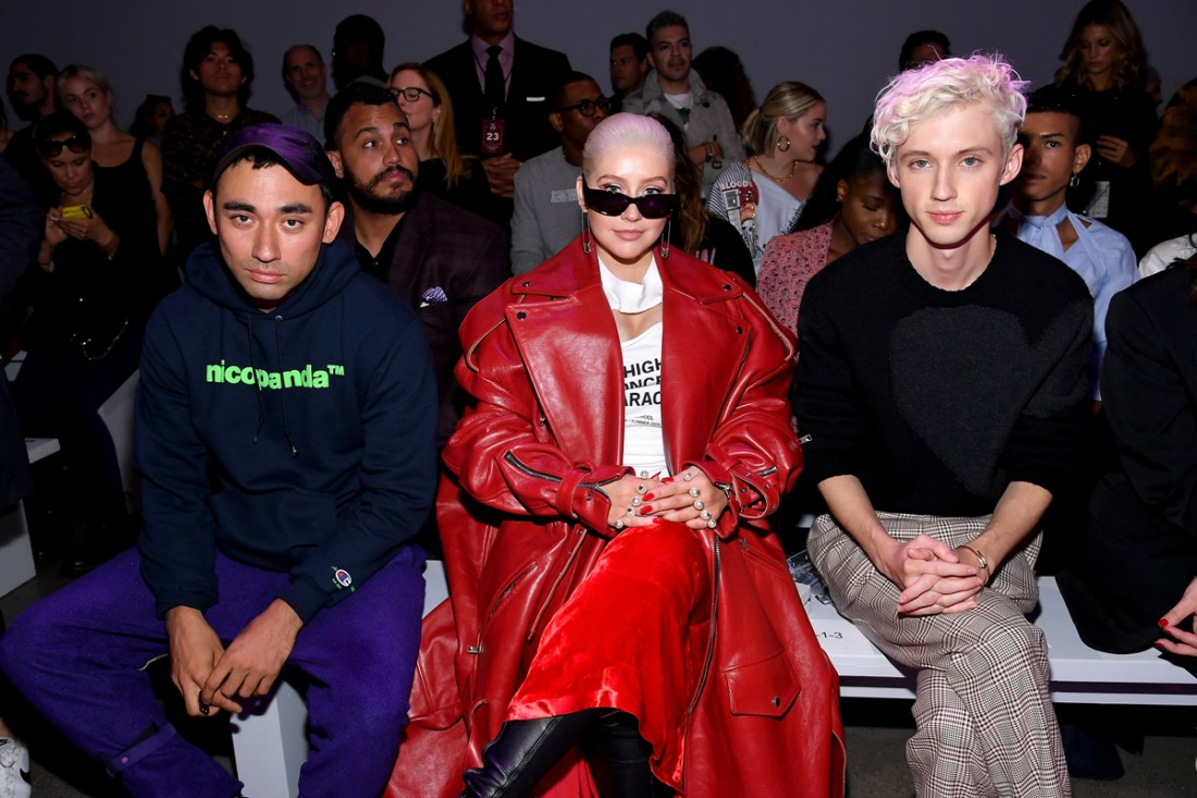 Front Row@Christian Cowan NYFW SS2019 photos by Getty Images 17