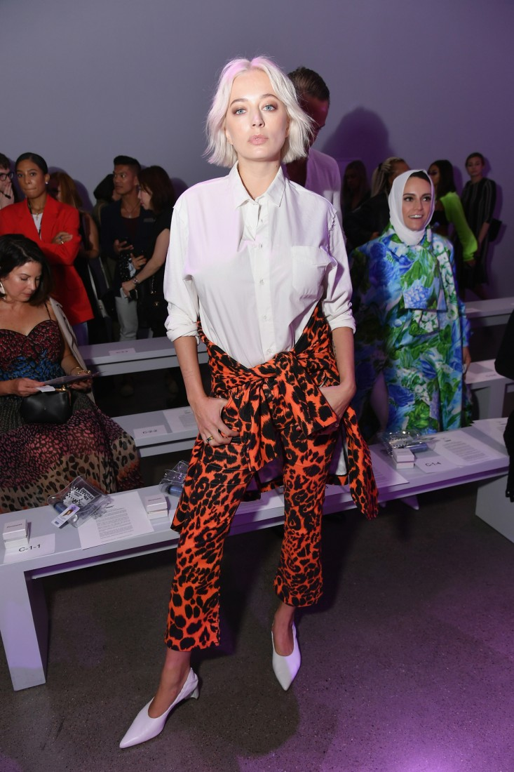 Front Row@Christian Cowan NYFW SS2019 photos by Getty Images 20