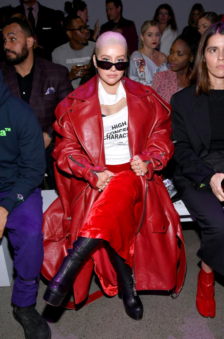 Front Row@Christian Cowan NYFW SS2019 photos by Getty Images 8
