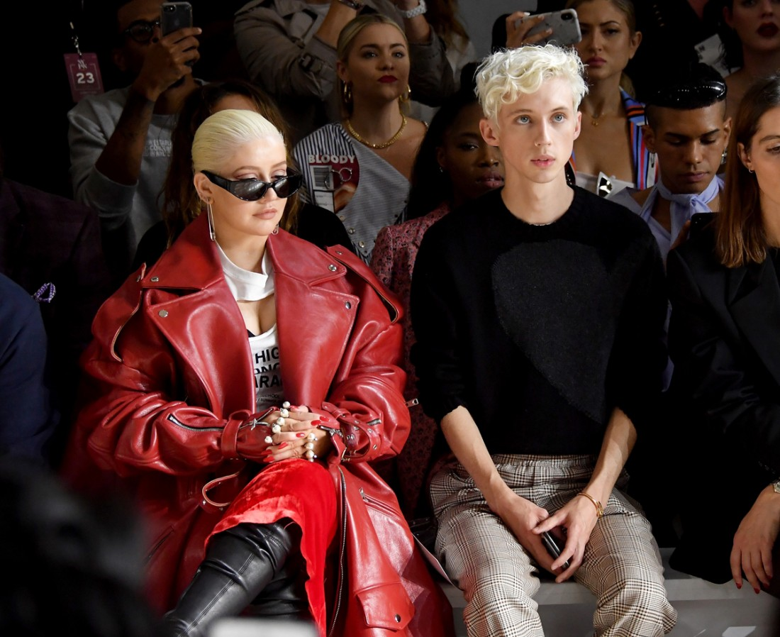 Front Row@Christian Cowan NYFW SS2019 photos by Getty Images 9