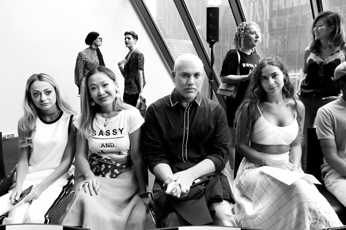 3478a3483cd Front Row KUR NYFW SS 2019 photo by Cheryl Gorski Archives - Fashion ...