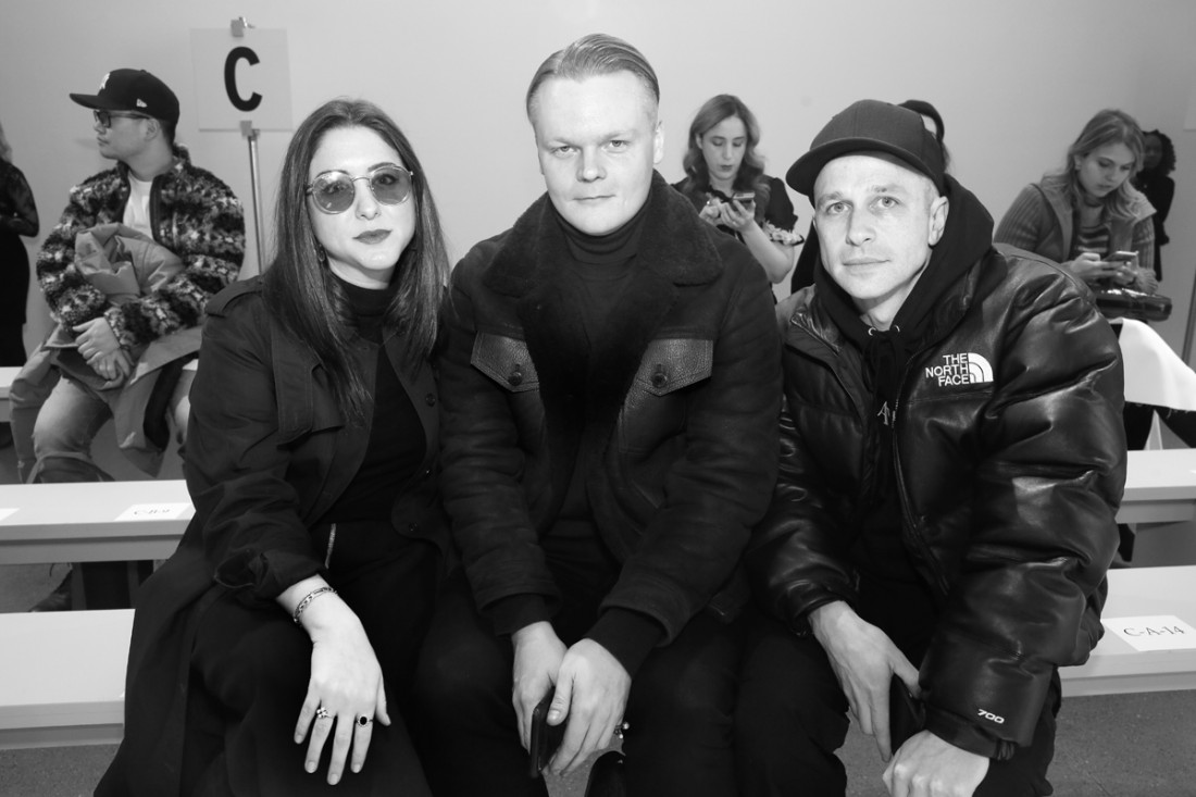 Front Row@Matthew Adams Dolan WOMENS NYFW FW2018 Photos by Cheryl Gorski 18