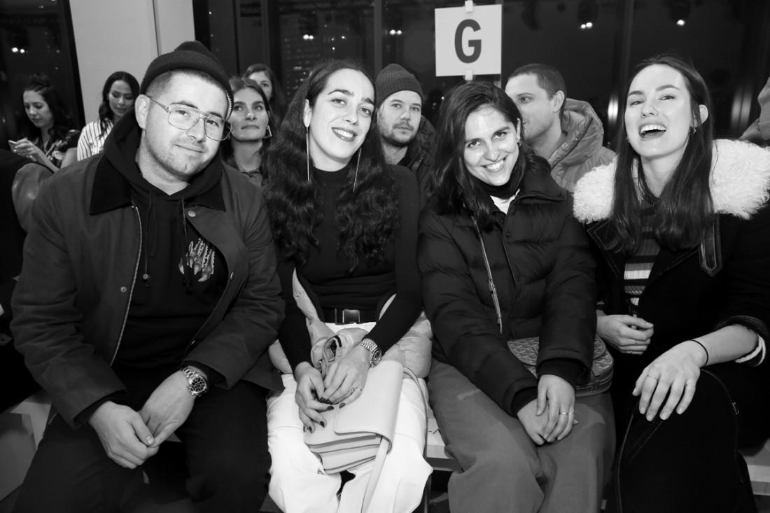 Front Row@Matthew Adams Dolan WOMENS NYFW FW2018 Photos by Cheryl Gorski 24