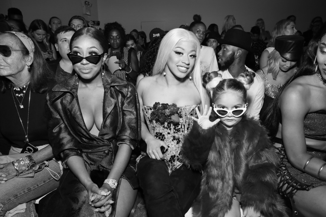 Hennessy Carolina Taylen Biggs @ Front Row@The Blonds NYFW SS2019 photo by Cheryl Gorski 60