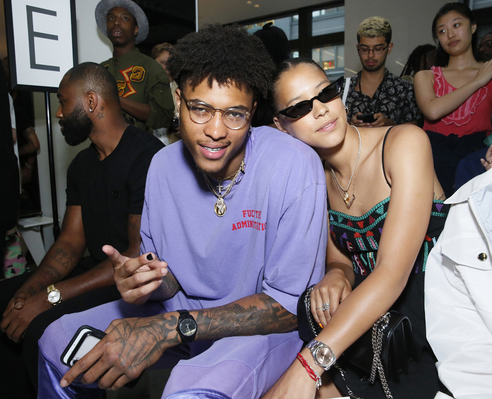 Kelly Oubre Front Row@ Landlord Mens NYFW SS2019 photo by Cheryl Gorski 15