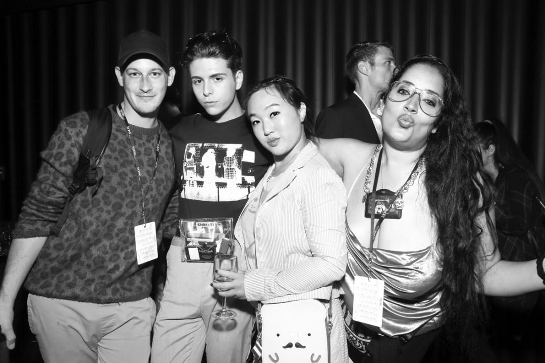 Luke Malachi Austin Velarde Micheline Michaelina Leah Kim@Wilhelmina NYFW Party 2018 photo by Cheryl Gorski 118