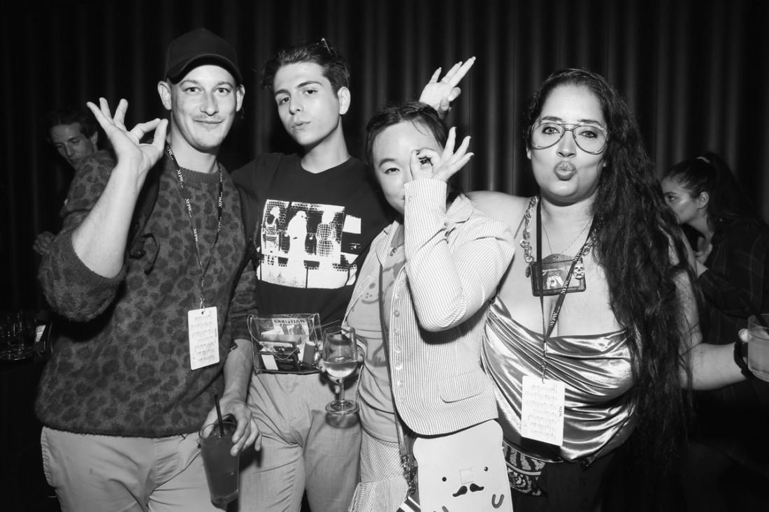Luke Malachi Austin Velarde Micheline Michaelina Leah Kim@Wilhelmina NYFW Party 2018 photo by Cheryl Gorski 119