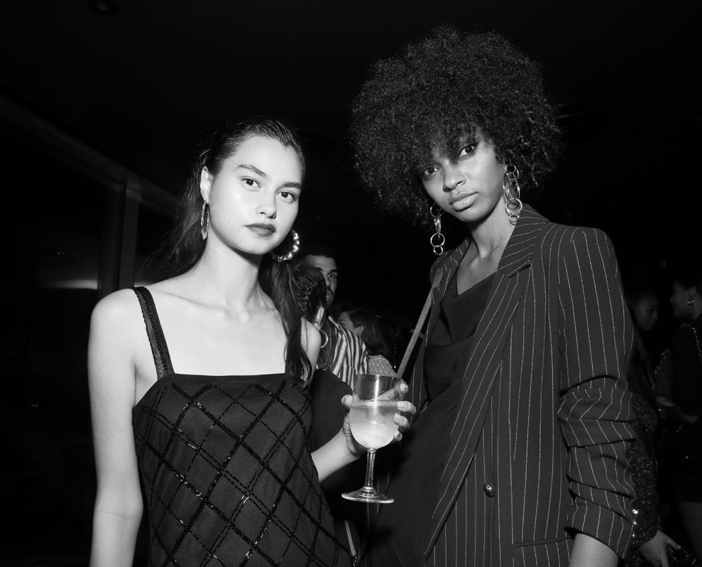 Michelle Krumog Djenice Duarte@Wilhelmina NYFW Party 2018 photo by Cheryl Gorski 17