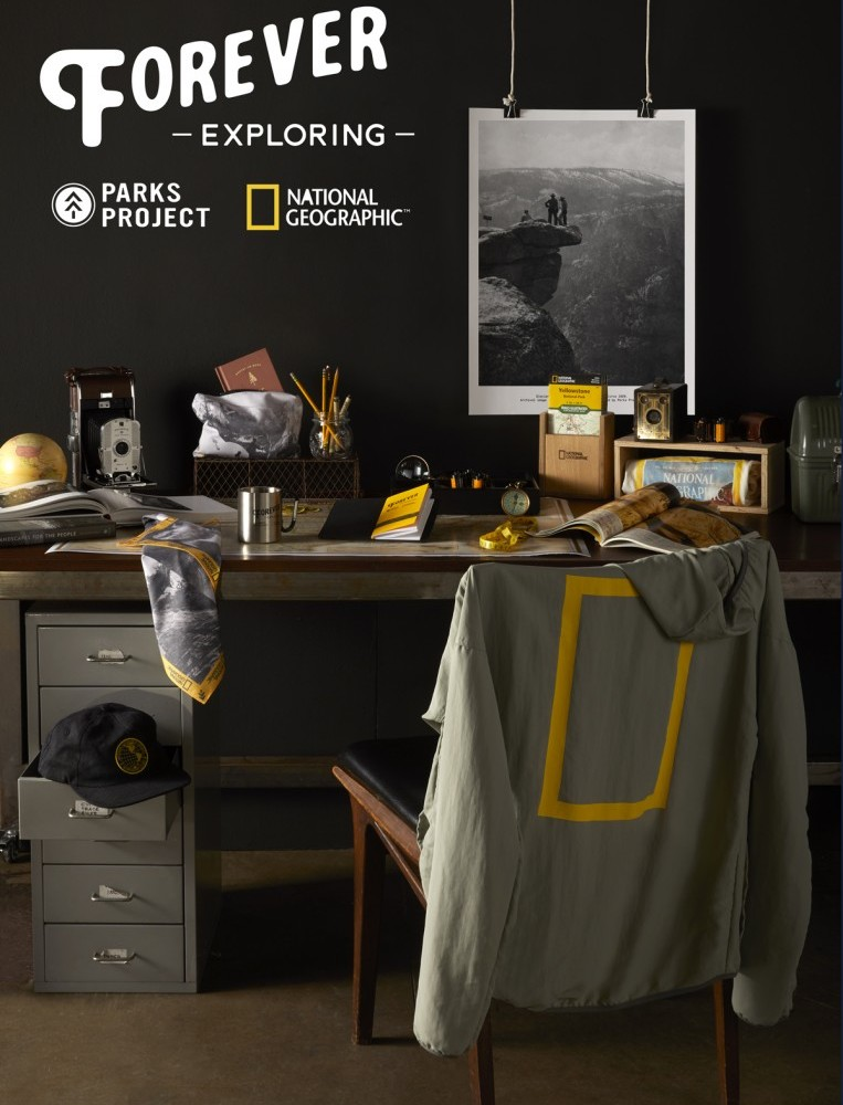 Parks Project x Nat Geo Office Study Vertical