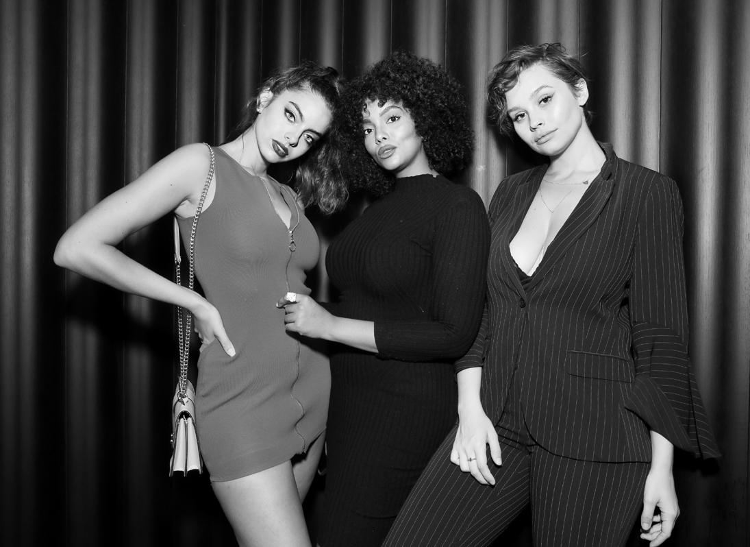 Priscilla Huggins Courtney G Rachel Spencer@Wilhelmina NYFW Party 2018 photo by Cheryl Gorski 31