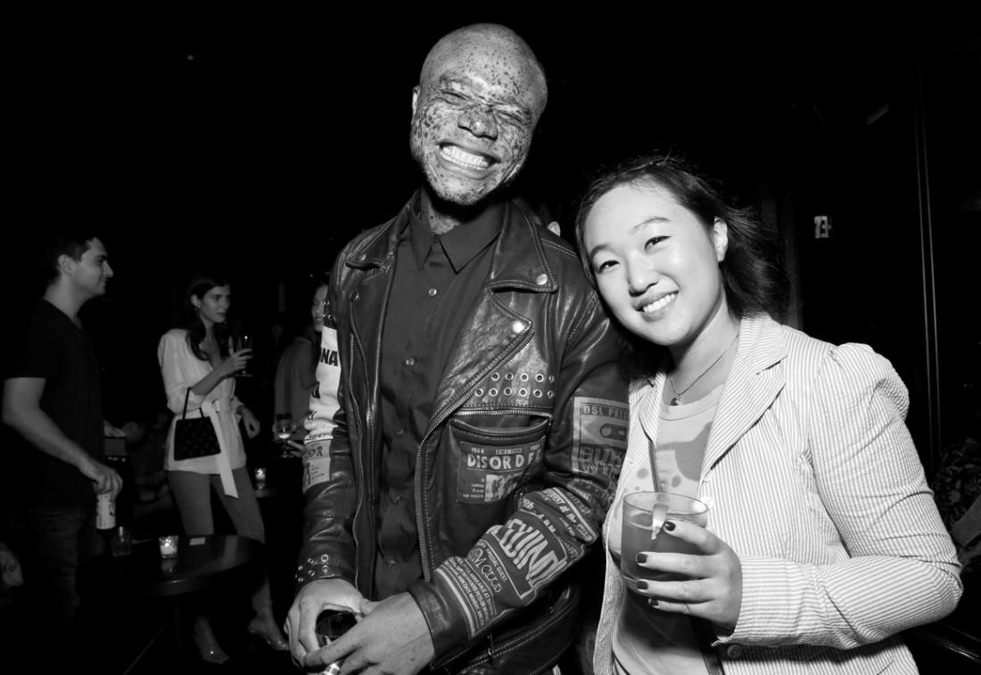 Ralph Souffrant Leah Kim@Wilhelmina NYFW Party 2018 photo by Cheryl Gorski 28