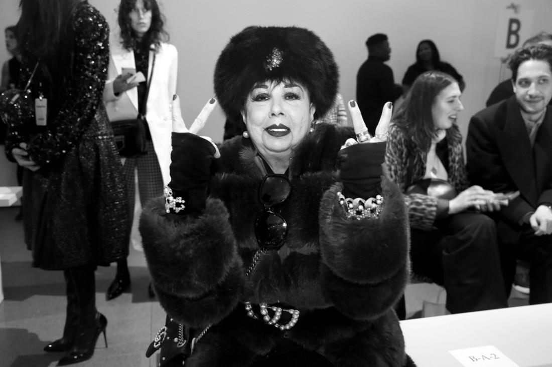 Rosemary Ponzo Front Row@Matthew Adams Dolan WOMENS NYFW FW2018 Photos by Cheryl Gorski 5