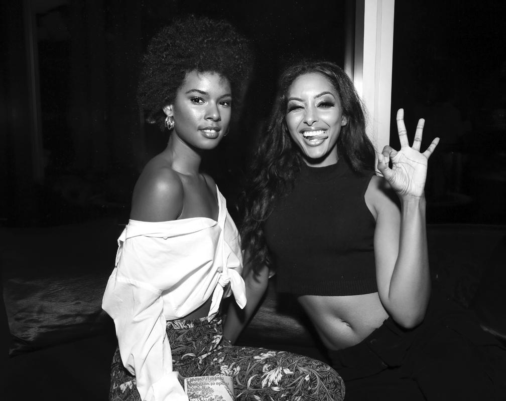 Sharahya Carter@Wilhelmina NYFW Party 2018 photo by Cheryl Gorski 70