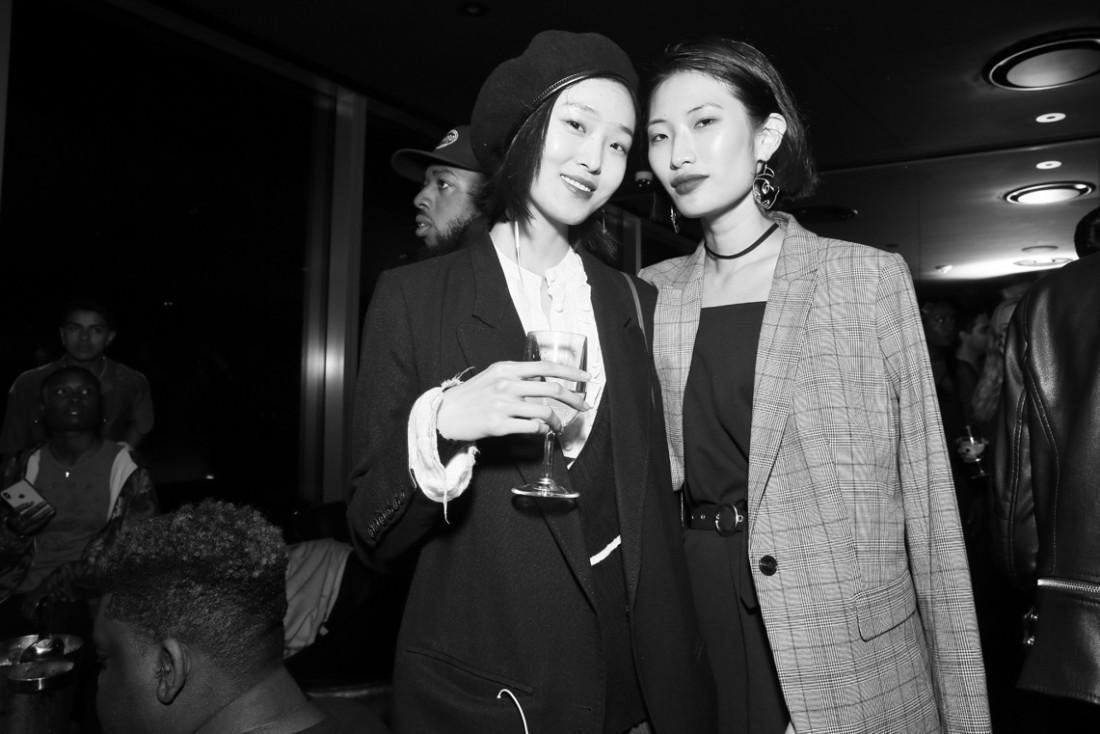Yue Han Siqi Chen@Wilhelmina NYFW Party 2018 photo by Cheryl Gorski 79