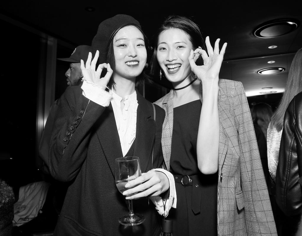 Yue Han Siqi Chen@Wilhelmina NYFW Party 2018 photo by Cheryl Gorski 80