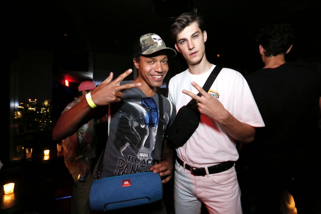 Andre Benton @ Carlos Campos After Party @ Public Hotel NYFW SS2019 photo by Cheryl Gorski 10