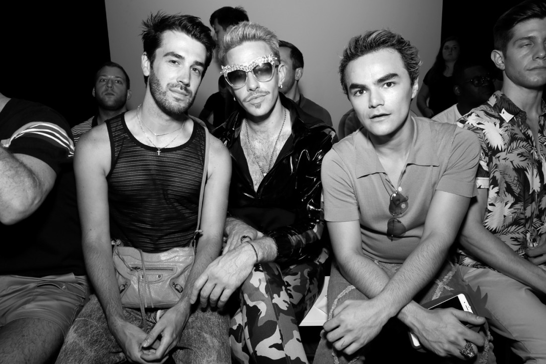 Baby Yors Front Row@PARKE RONEN Mens NYFW SS2019 photo by Cheryl Gorski 15