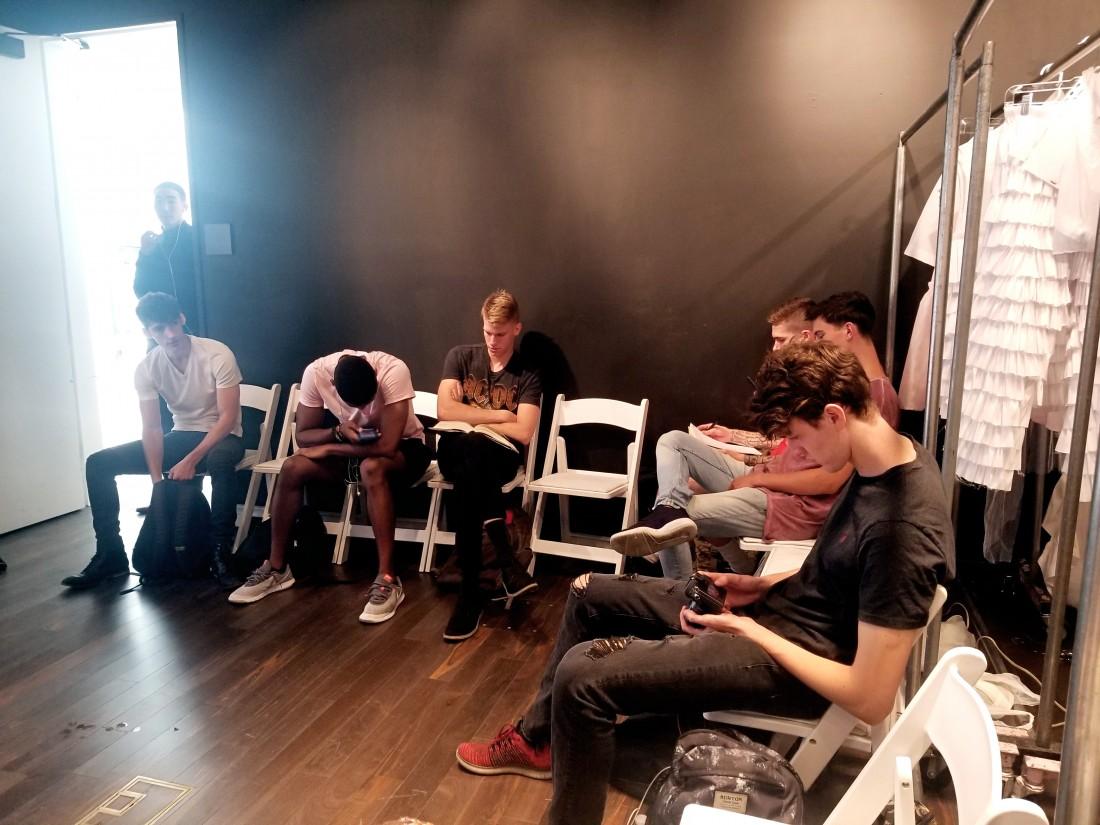Backstage @ Alessandro Trincone Mens NYFW SS2019 photos by Leah Kim 6