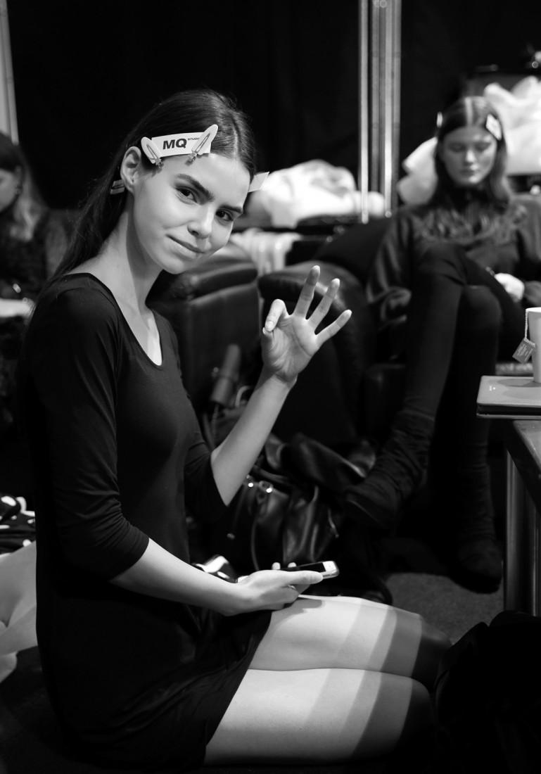 Backstage@Hot Now China NYFW SS2019 photo by Cheryl Gorski 22