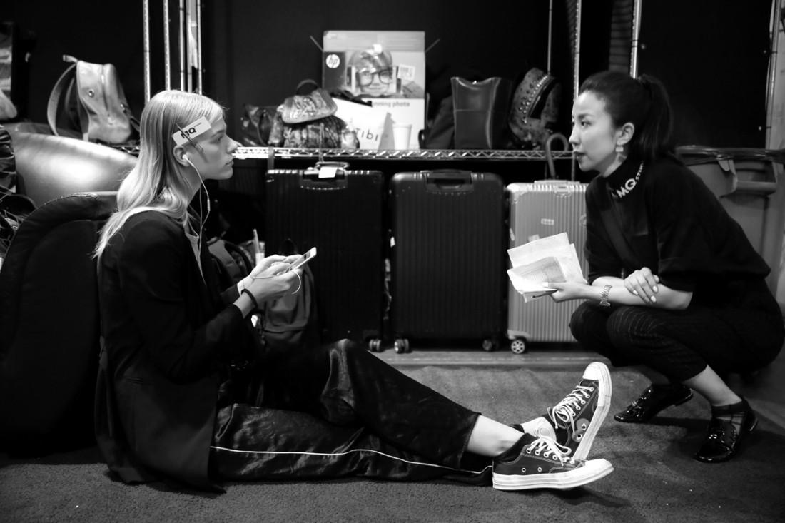 Backstage@Hot Now China NYFW SS2019 photo by Cheryl Gorski 30
