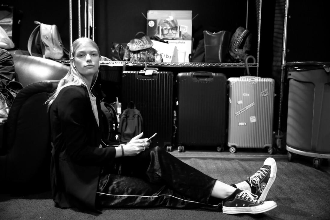 Backstage@Hot Now China NYFW SS2019 photo by Cheryl Gorski 32
