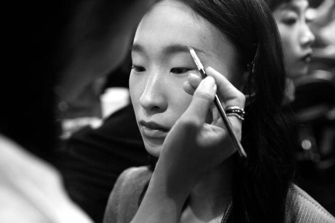 Backstage@Hot Now China NYFW SS2019 photo by Cheryl Gorski 34