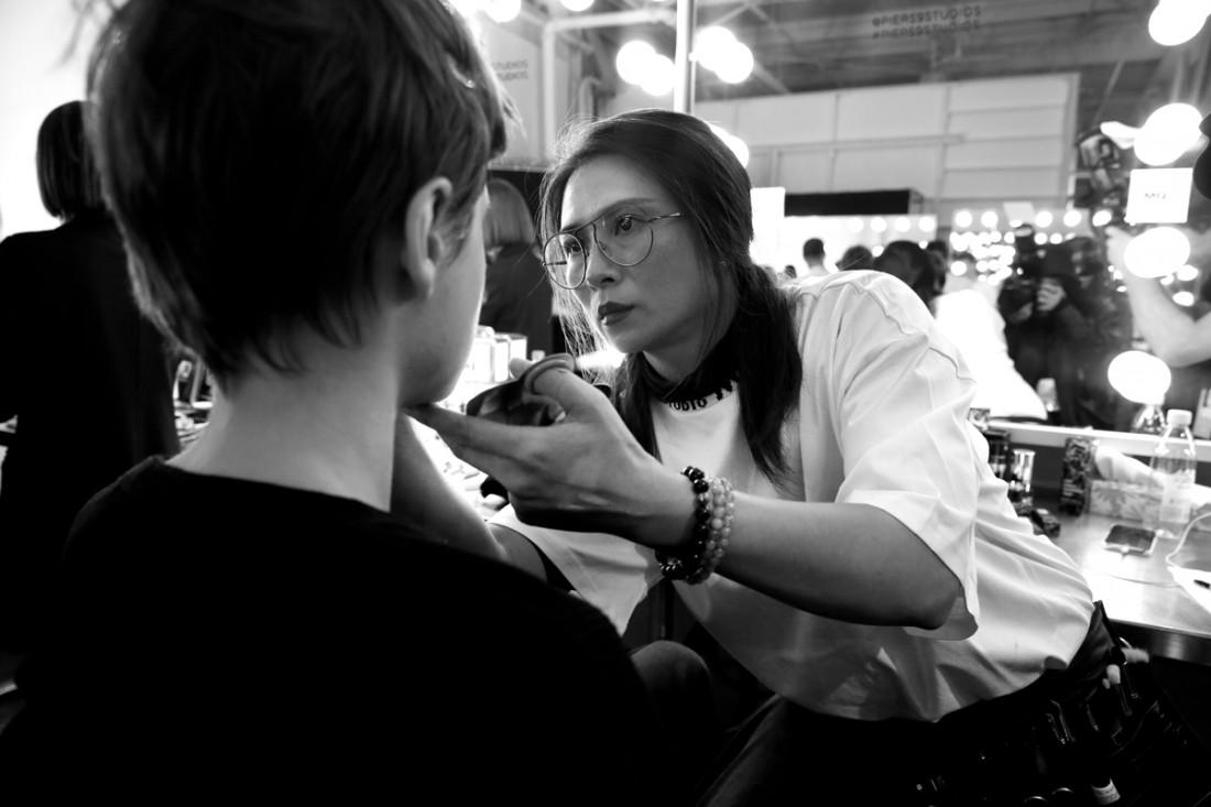 Backstage@Hot Now China NYFW SS2019 photo by Cheryl Gorski 42