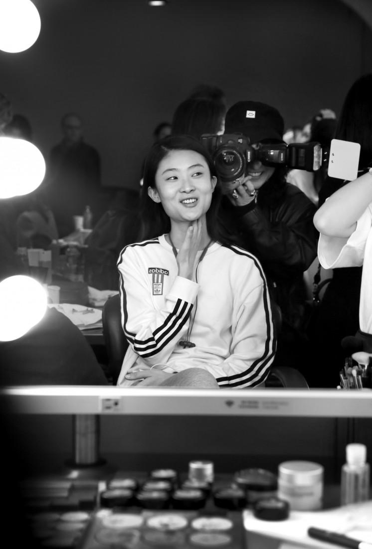 Backstage@Hot Now China NYFW SS2019 photo by Cheryl Gorski 43