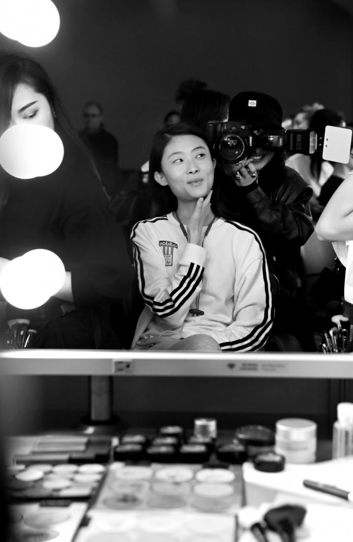 Backstage@Hot Now China NYFW SS2019 photo by Cheryl Gorski 44