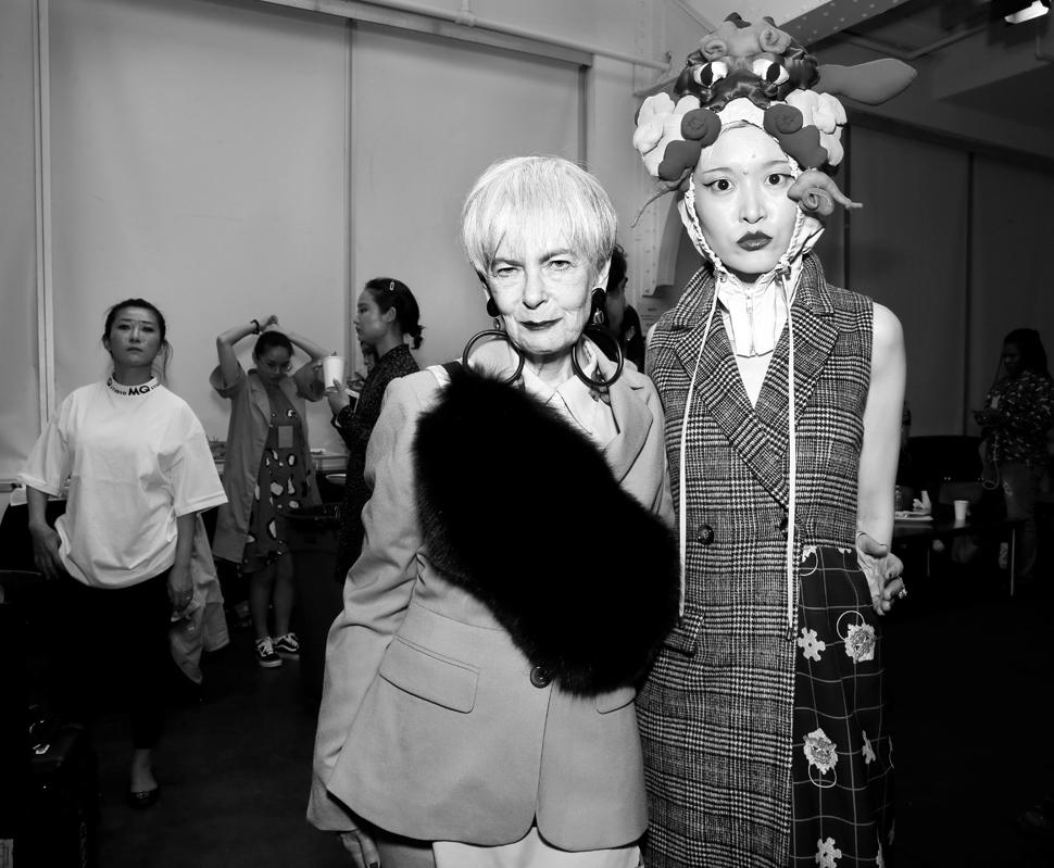 Backstage@Hot Now China NYFW SS2019 photo by Cheryl Gorski 55