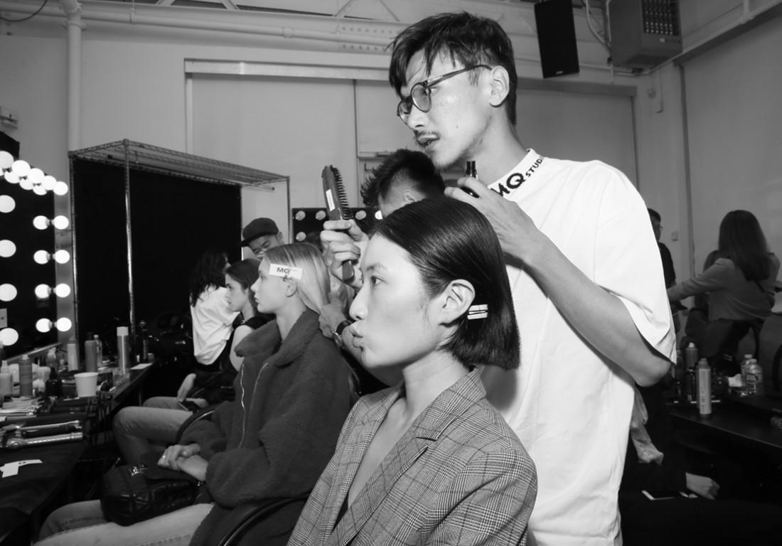 Backstage@Hot Now China NYFW SS2019 photo by Cheryl Gorski 58