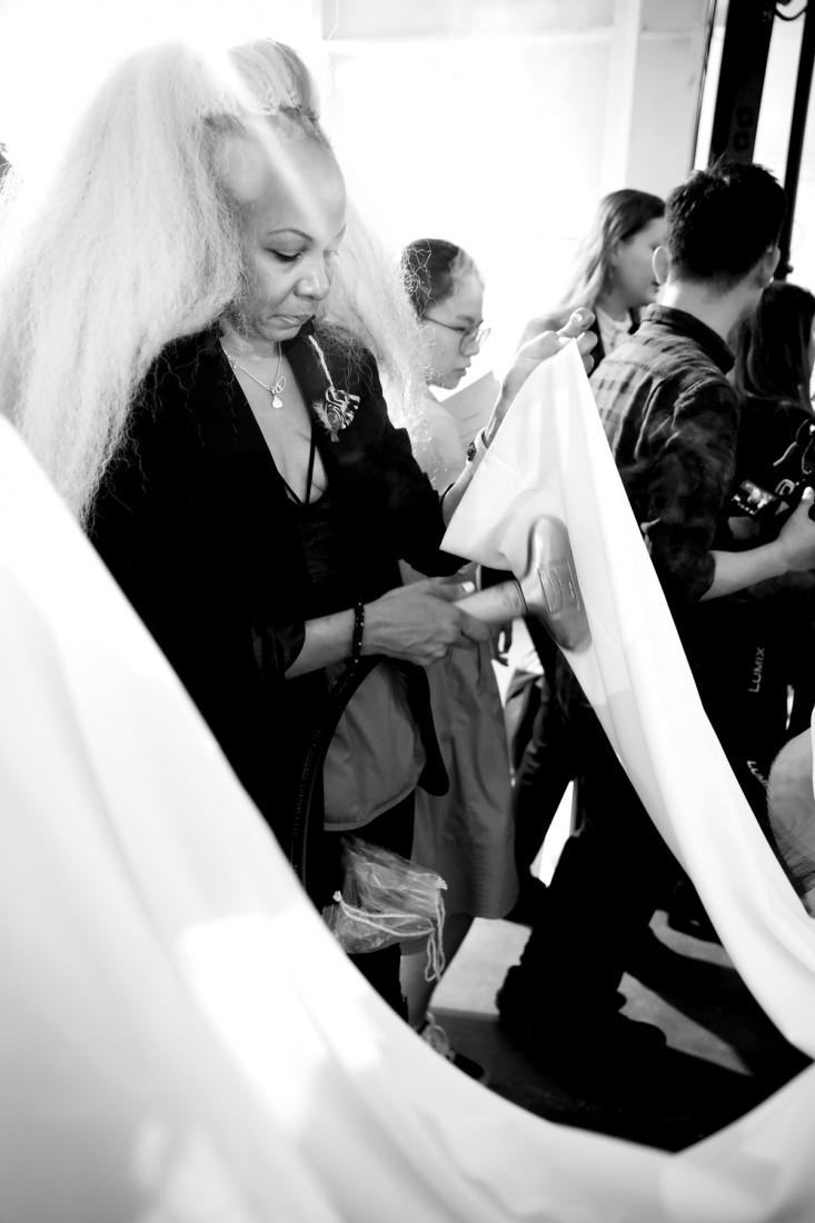 Backstage@Hot Now China NYFW SS2019 photo by Cheryl Gorski 6