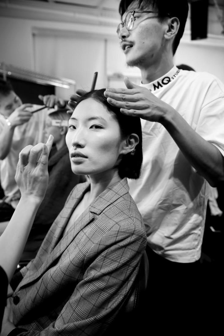 Backstage@Hot Now China NYFW SS2019 photo by Cheryl Gorski 62