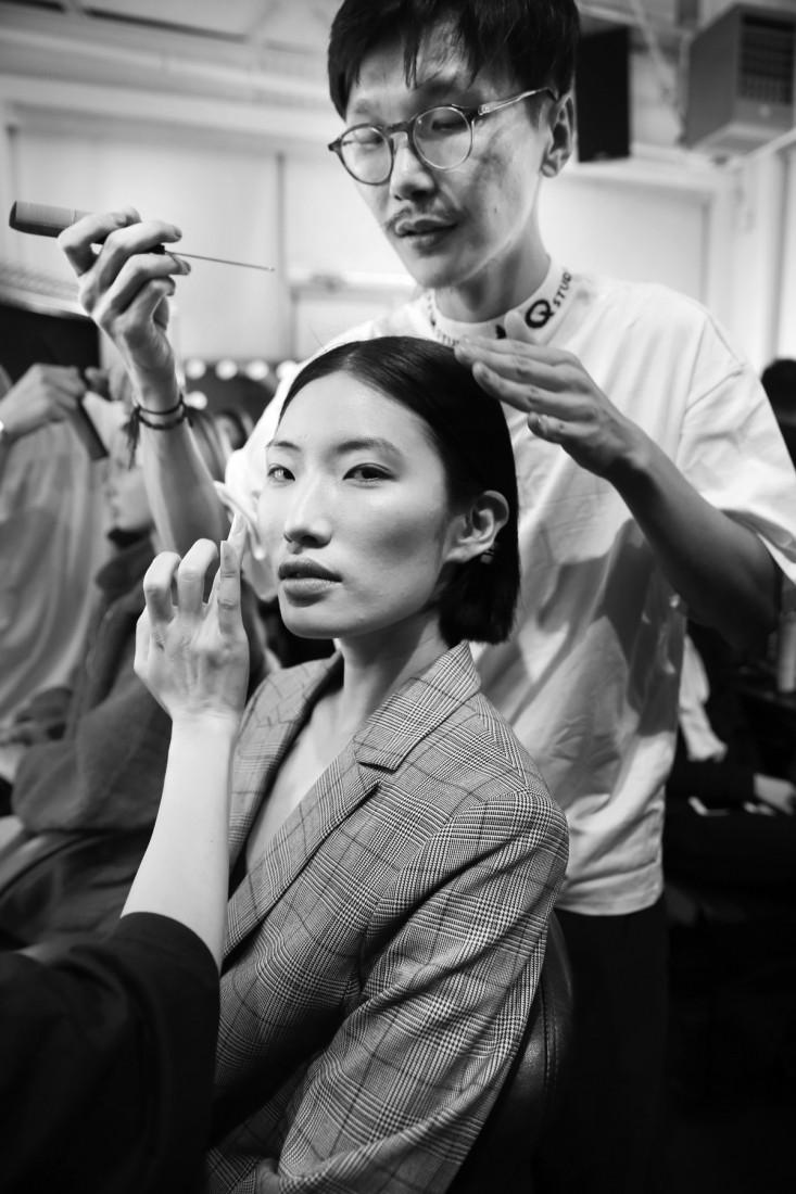 Backstage@Hot Now China NYFW SS2019 photo by Cheryl Gorski 63