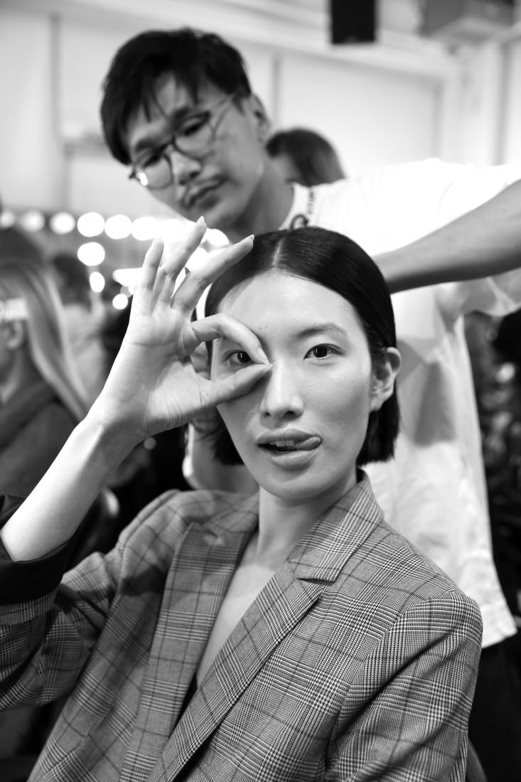 Backstage@Hot Now China NYFW SS2019 photo by Cheryl Gorski 67