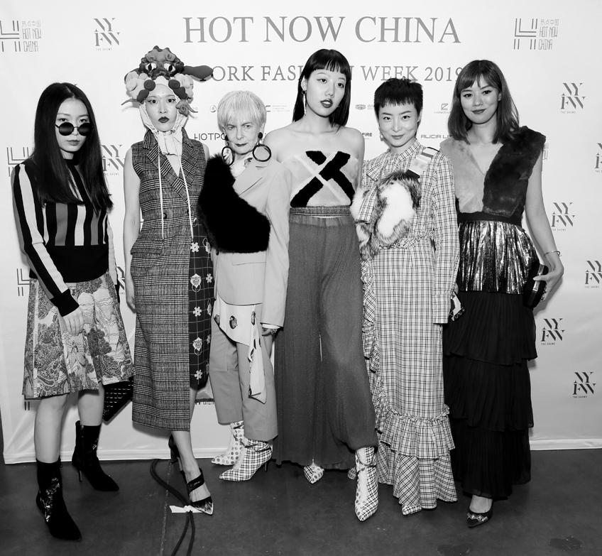 Backstage@Hot Now China NYFW SS2019 photo by Cheryl Gorski 69