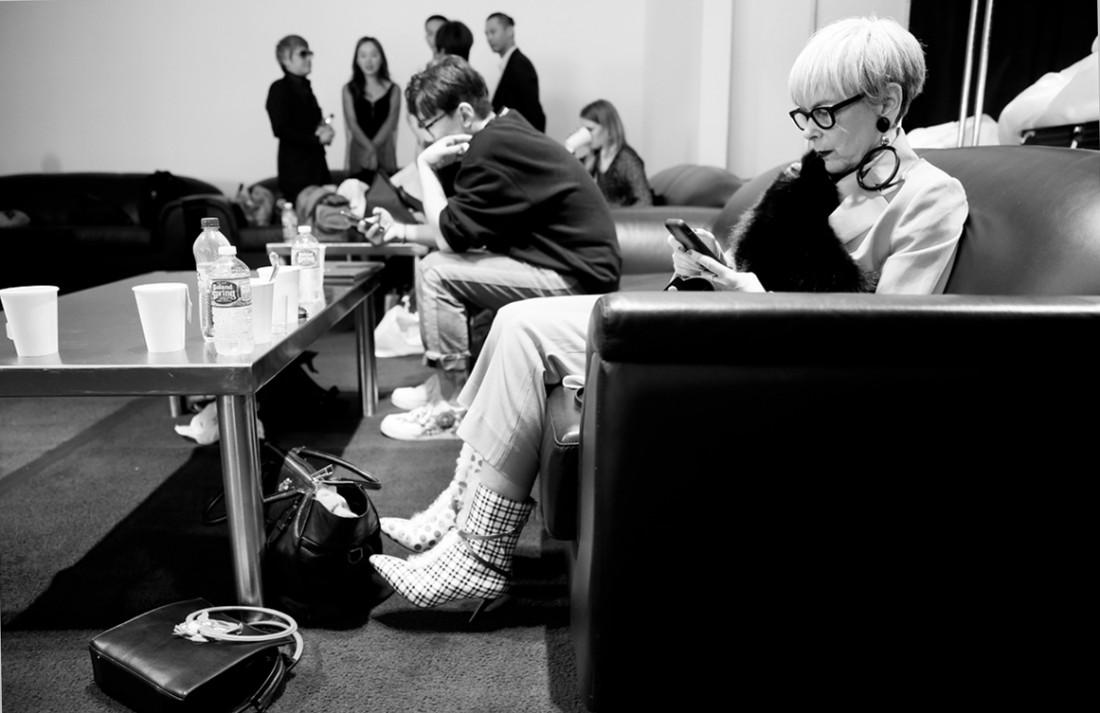 Backstage@Hot Now China NYFW SS2019 photo by Cheryl Gorski 7