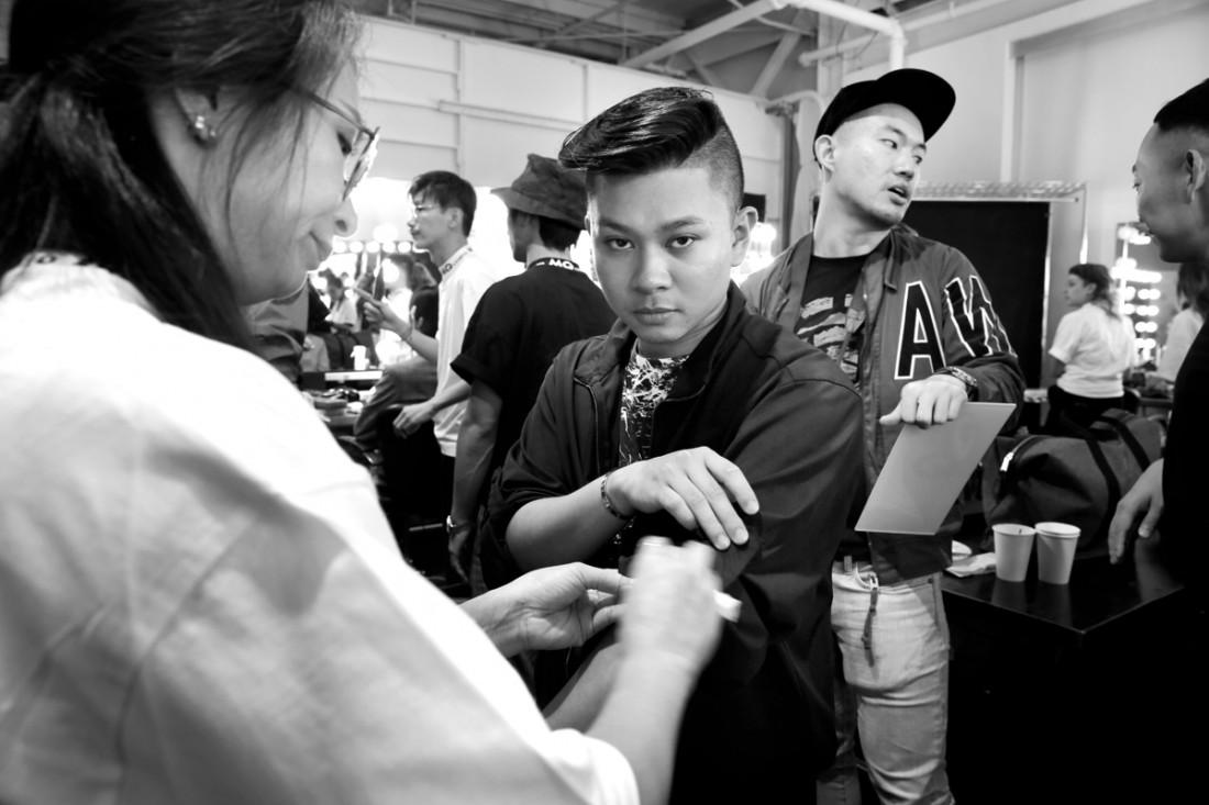 Backstage@Hot Now China NYFW SS2019 photo by Cheryl Gorski 71