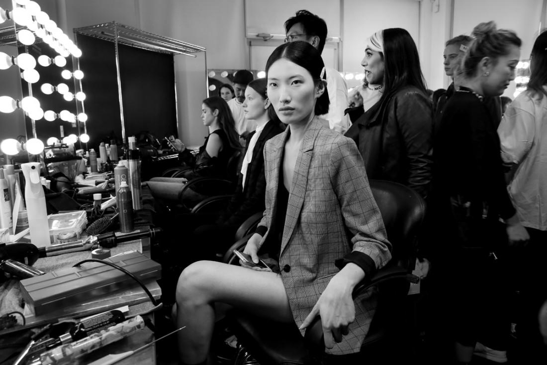 Backstage@Hot Now China NYFW SS2019 photo by Cheryl Gorski 73