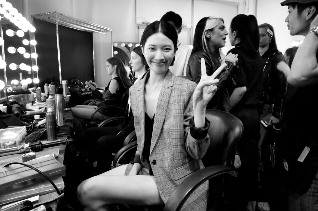 Backstage@Hot Now China NYFW SS2019 photo by Cheryl Gorski 74