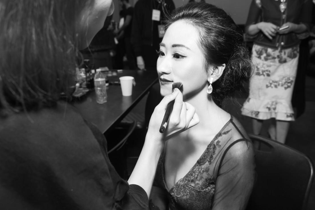 Backstage@Hot Now China NYFW SS2019 photo by Cheryl Gorski 77