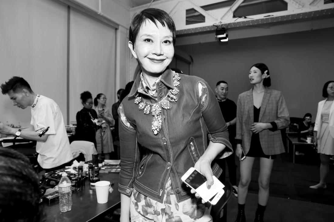 Backstage@Hot Now China NYFW SS2019 photo by Cheryl Gorski 83