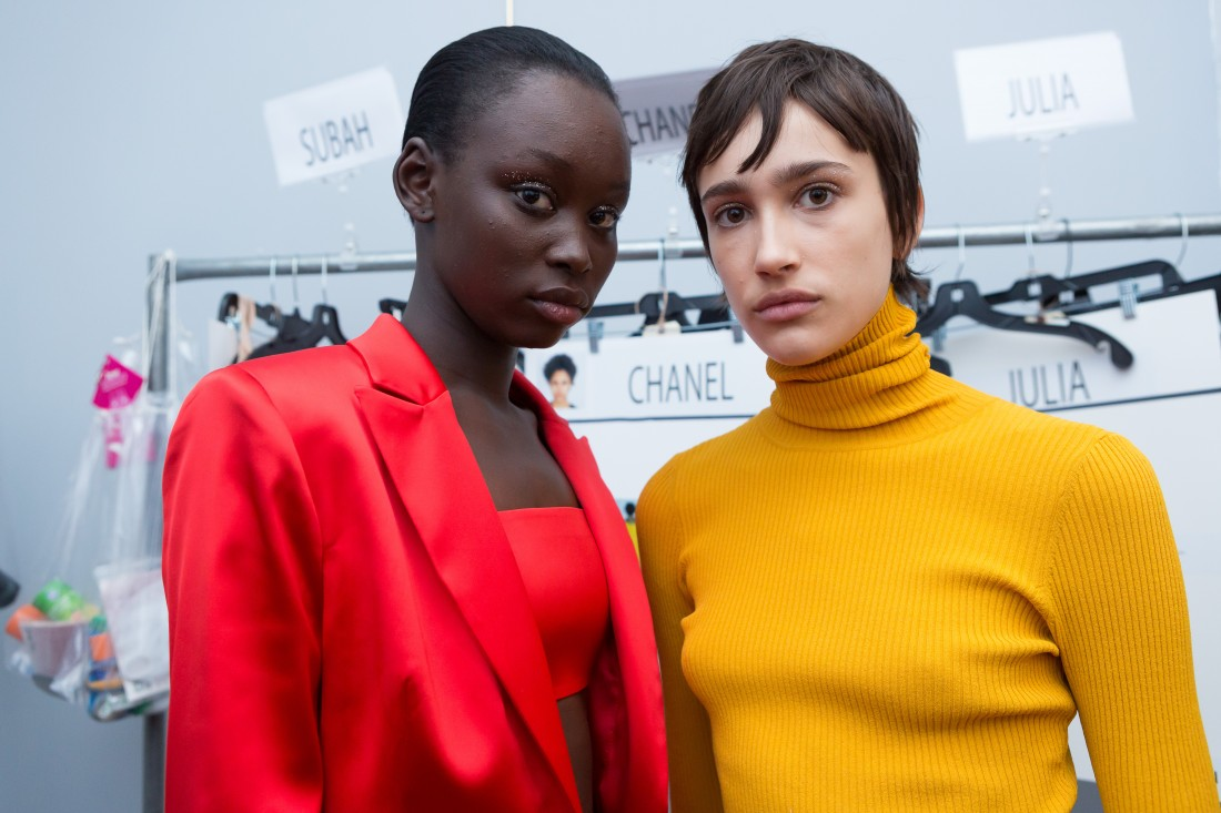 Backstage@Milly NYFW FW2018 photo by Greg Kessler for BFA 1
