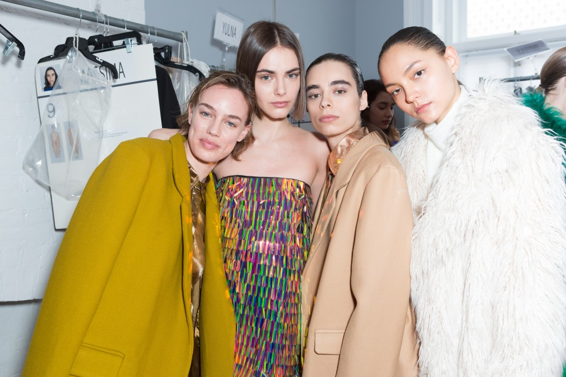 Backstage@Milly NYFW FW2018 photo by Greg Kessler for BFA 3