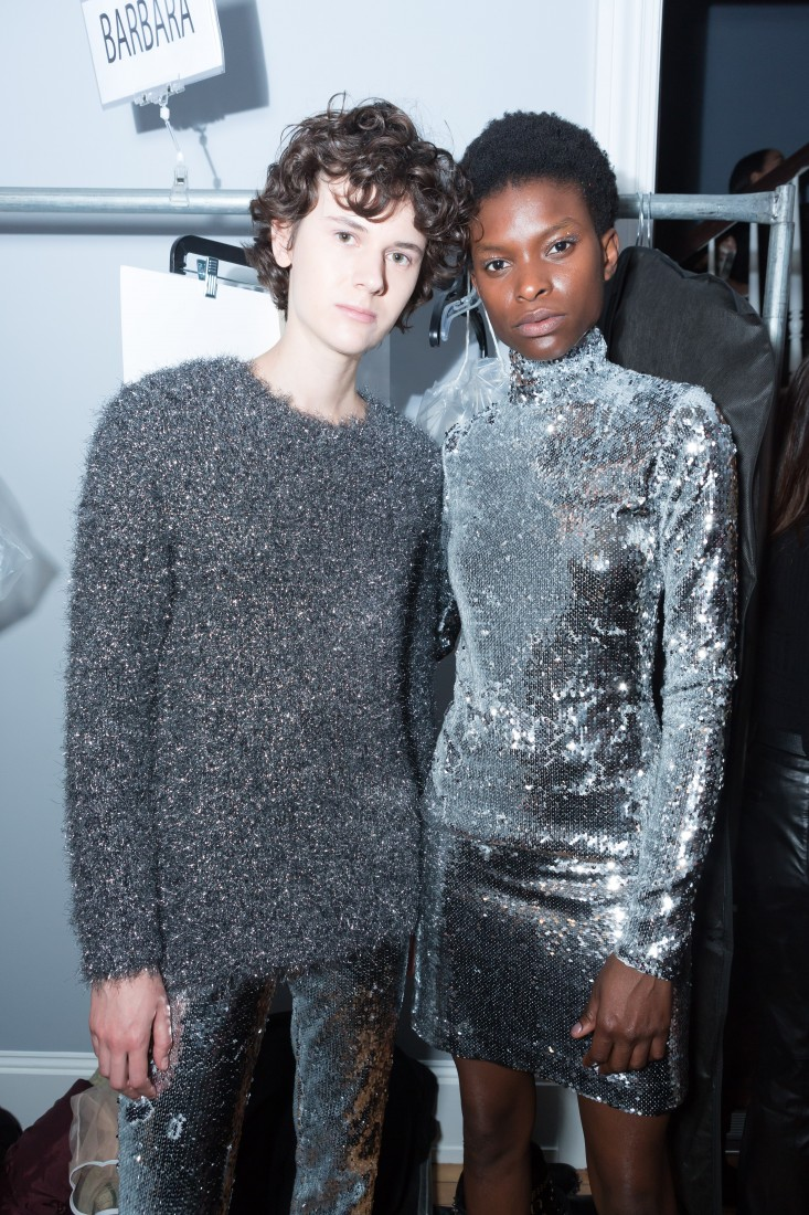 Backstage@Milly NYFW FW2018 photo by Greg Kessler for BFA 4