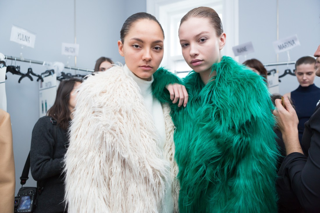 Backstage@Milly NYFW FW2018 photo by Greg Kessler for BFA 5