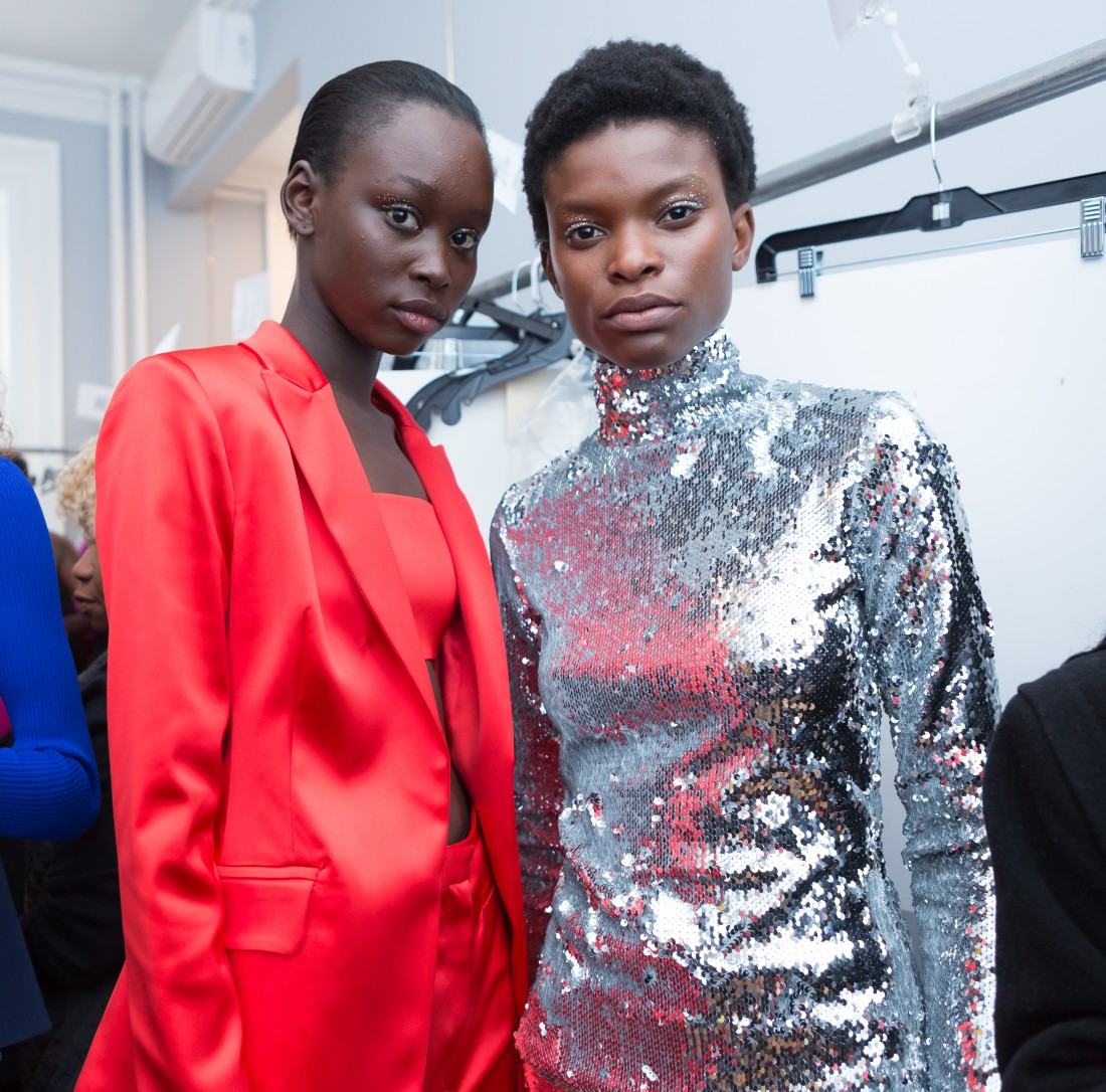 Backstage@Milly NYFW FW2018 photo by Greg Kessler for BFA 6